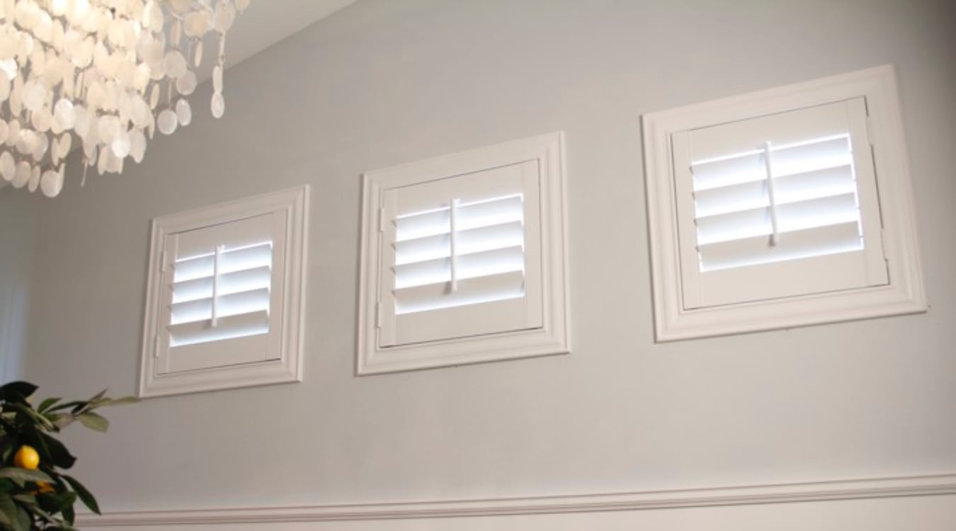 Philadelphia small window shutters